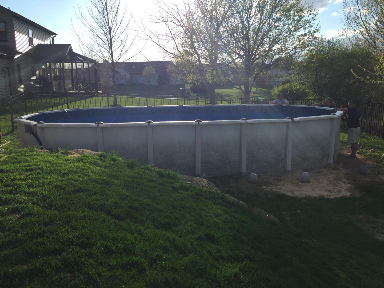 Above Ground Swimming Pools Patio Pleasures