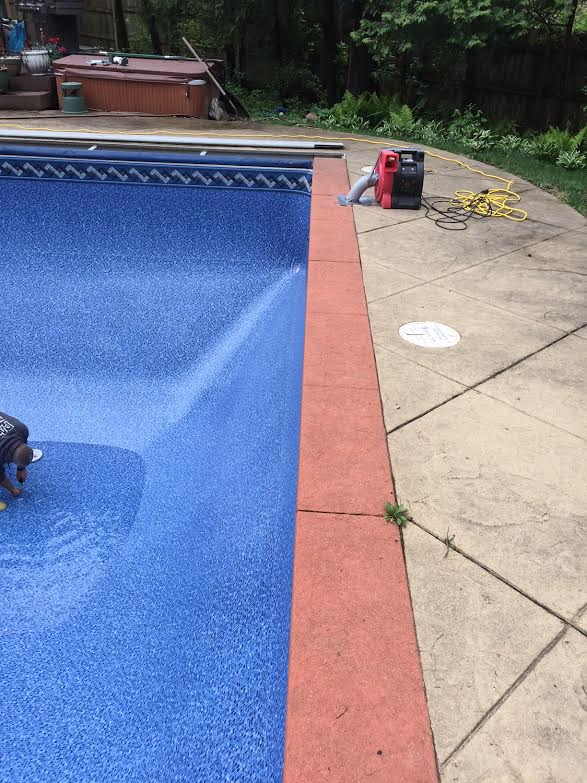 Pool Liners Before And After Patio Pleasures