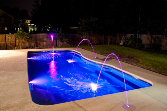 5 reasons you need led pool lighting patio pleasures - Inground swimming pool light fixture ...