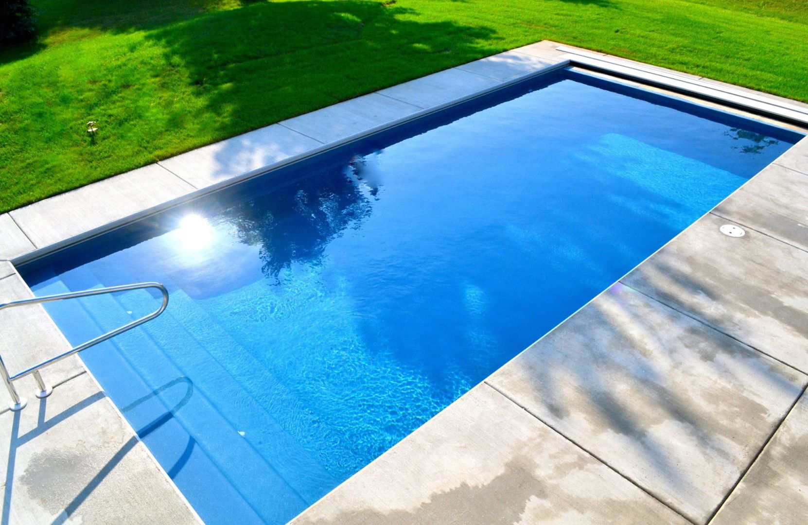 Zenith Inground Fiberglass Pool By Trilogy Patio Pleasures