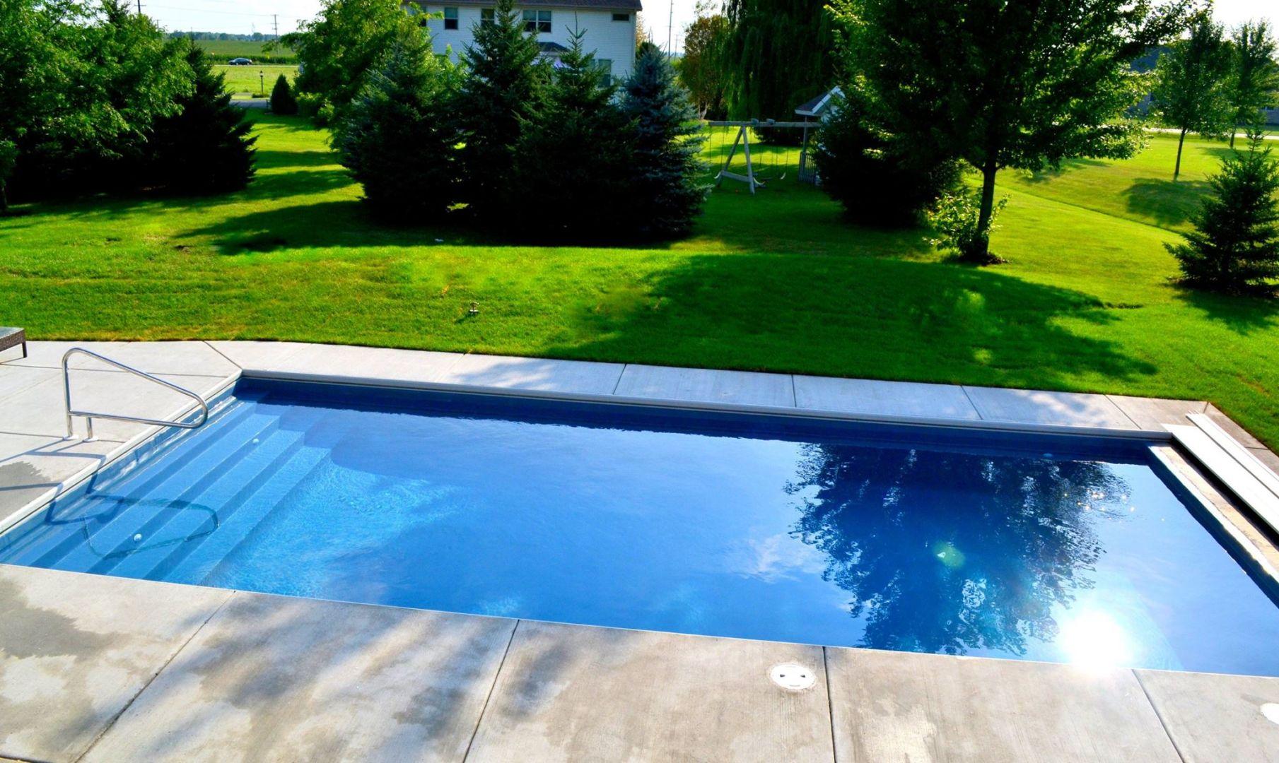 Zenith Inground Fiberglass Pool By Trilogy Patio Pleasures