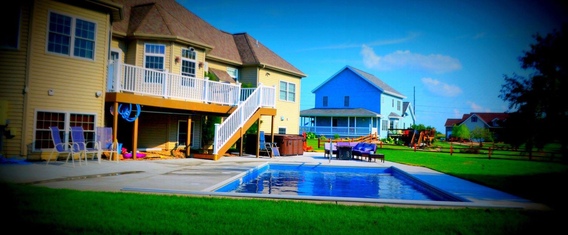 Zenith Fiberglass Pool Sun Prairie Wi Patio Pleasures