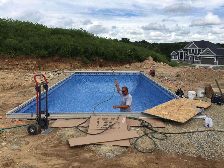18x36 Inground Pool Bristol Wi Patio Pleasures